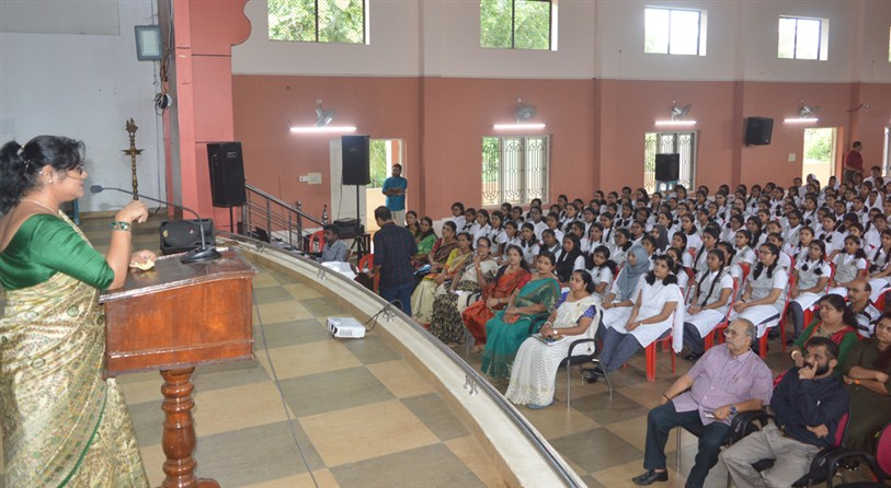 An orientation session by Dr.L R Madhujan
